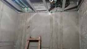 九龙花园隐蔽工程