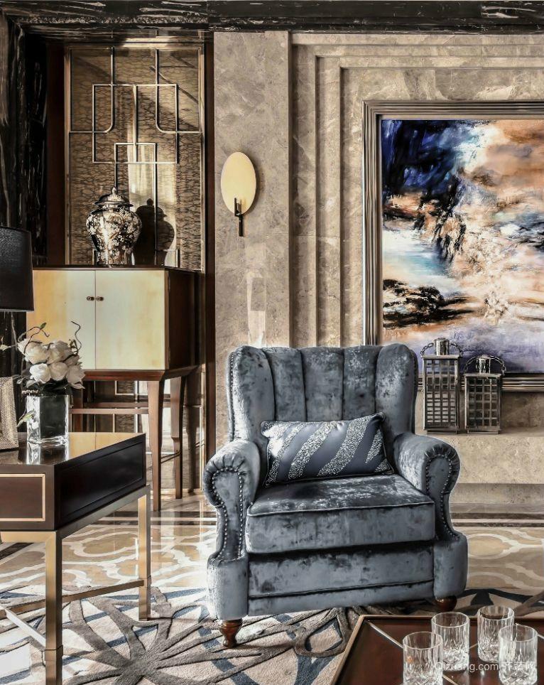 众安恒隆广场欧式风格装修效果图实景图