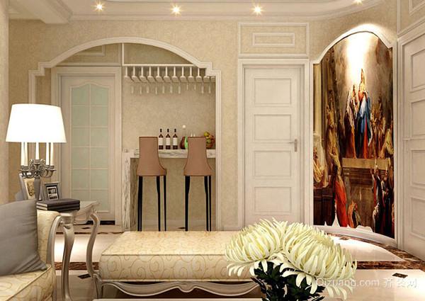 南山维拉古典风格装修效果图实景图