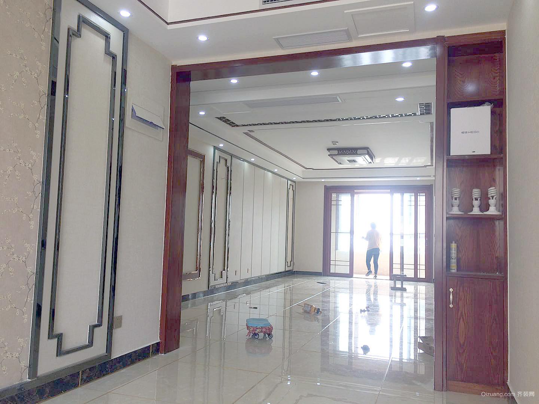 昌润莲城中式风格装修效果图实景图