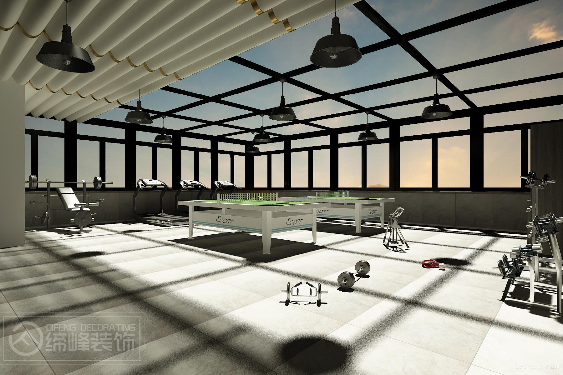 文山州建投一水办公室现代简约装修效果图实景图