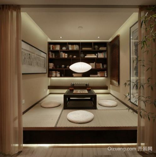 中式古典风格装修效果图实景图