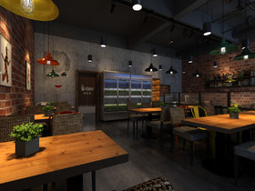 绿地烧烤店