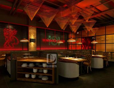 郑州地狱厨房设计装修设计案例