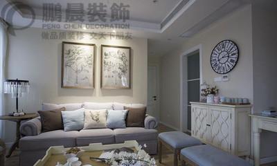 芜湖中建500米 94平现代装修效果图装修设计案例