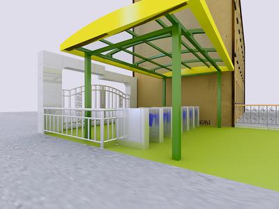 阿城蓝天幼儿园装修设计案例