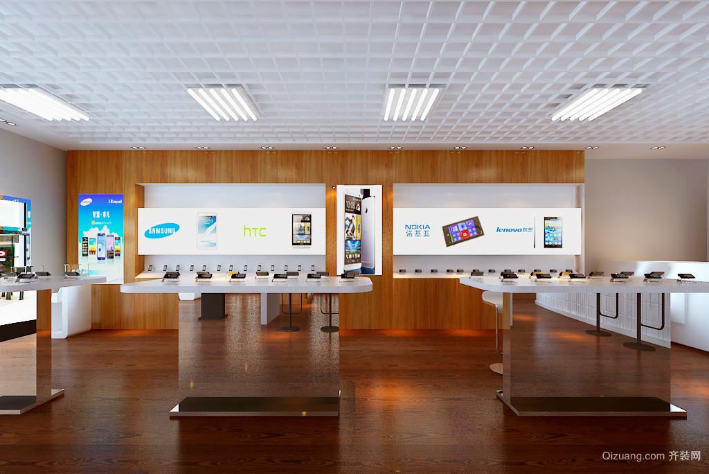 哈西万达广场现代简约装修效果图实景图