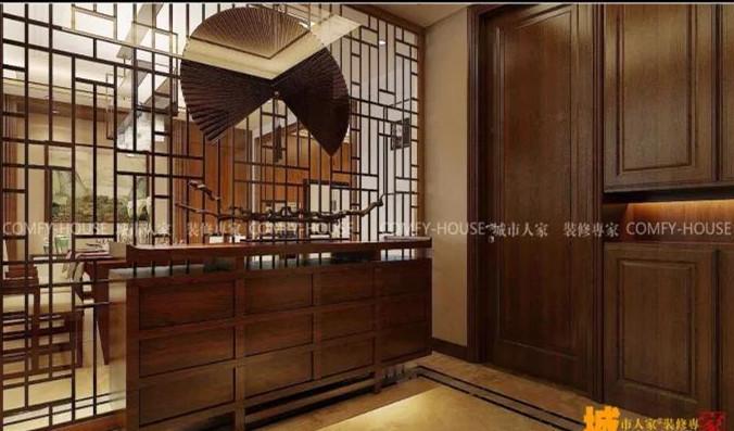 明珠·拉菲公馆中式风格装修效果图实景图