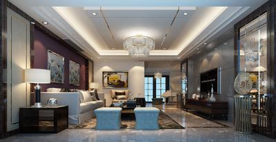 龙泉三中复式楼装修设计案例