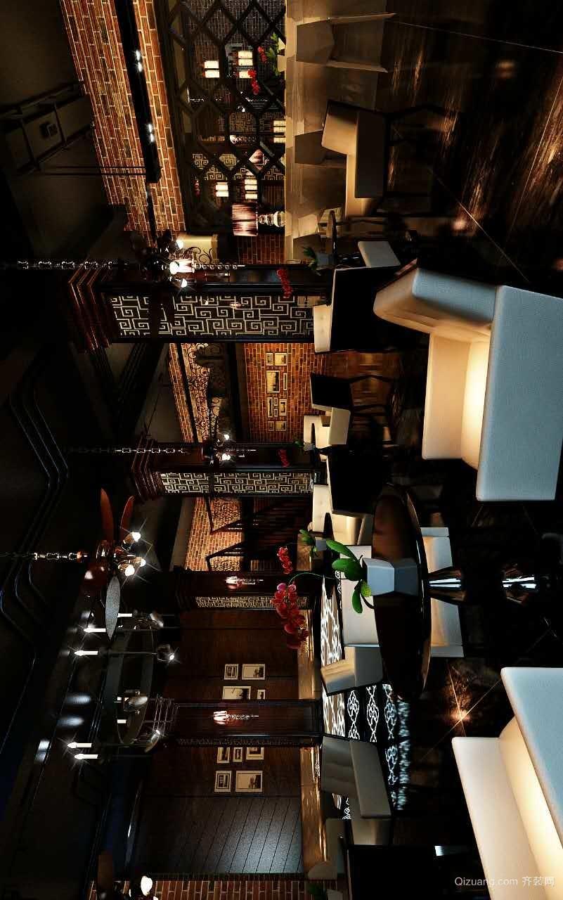 雁滩酒吧现代简约装修效果图实景图