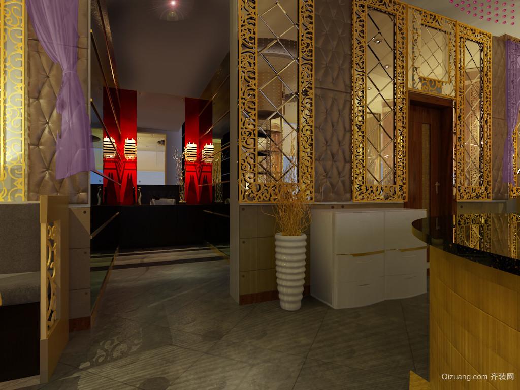 安宁茶楼现代简约装修效果图实景图