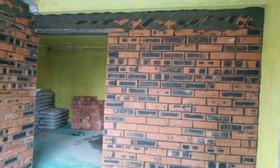 东兰轩泥工砌墙