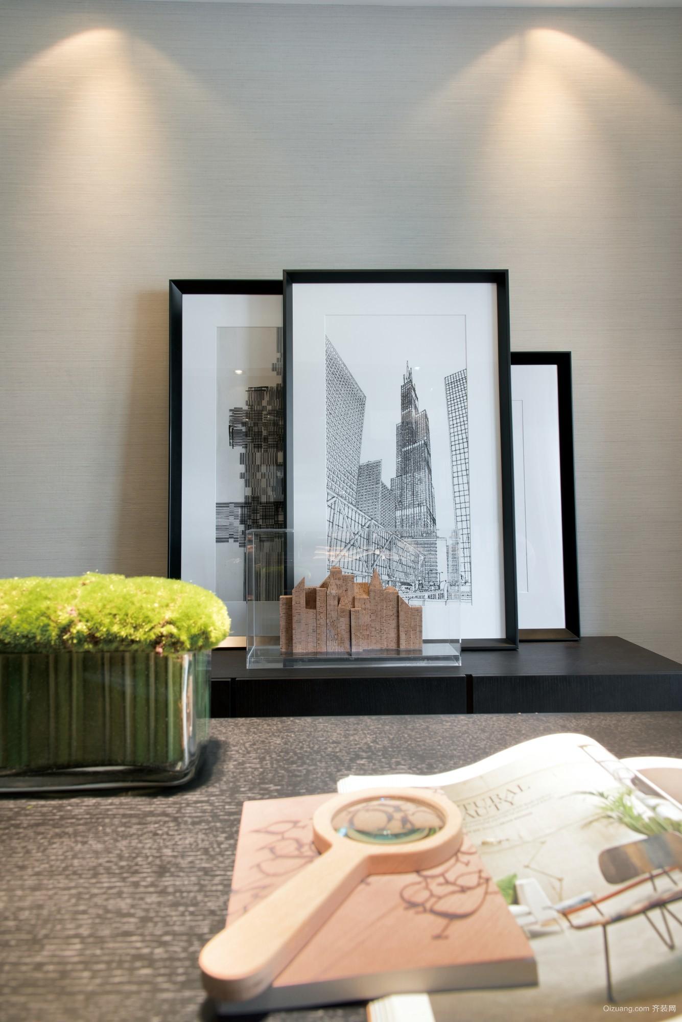无锡碧桂园现代简约装修效果图实景图
