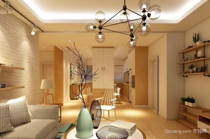 祥和家园欧式风格装修效果图实景图