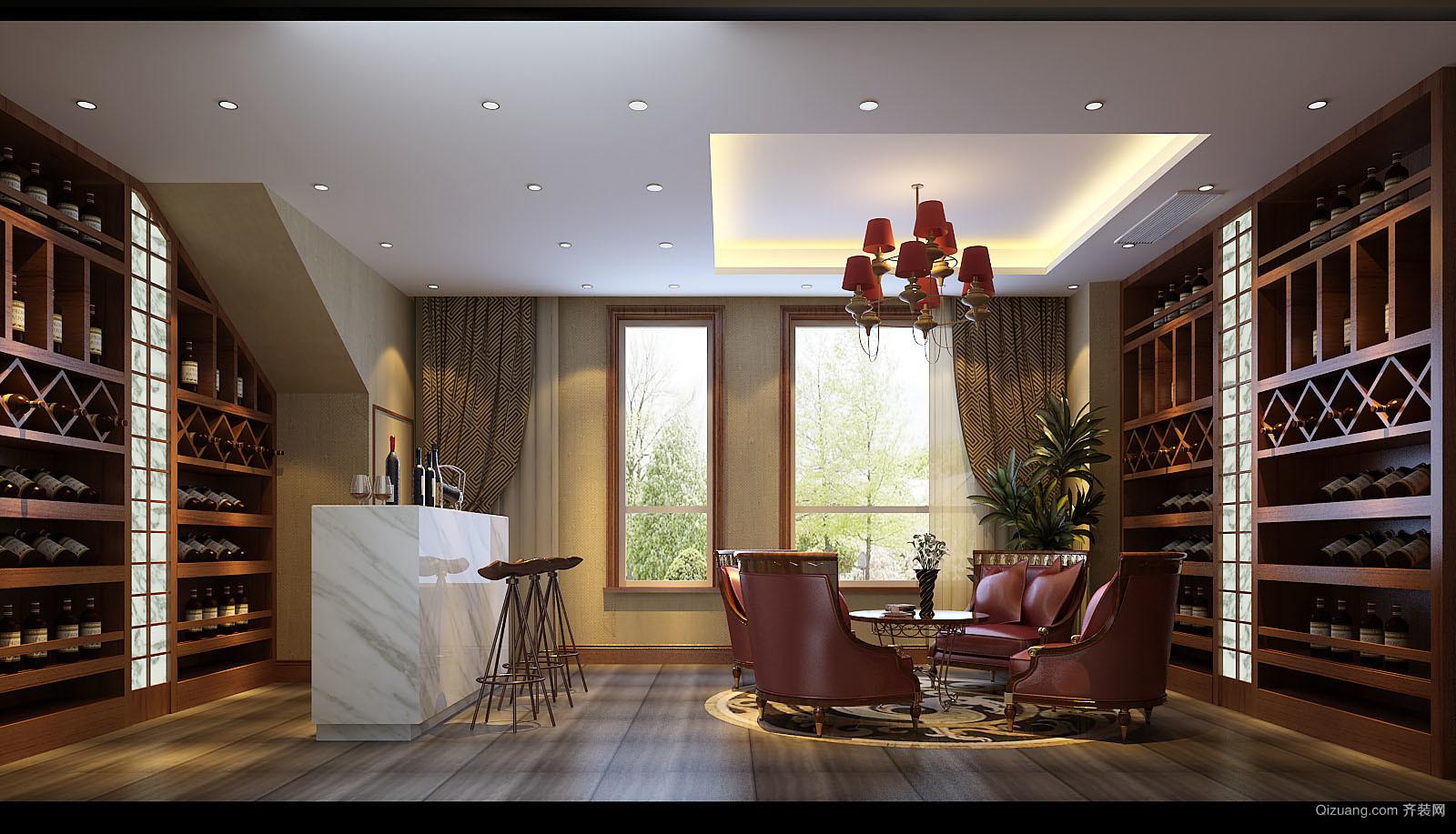 泰禾·北京院子中式风格装修效果图实景图