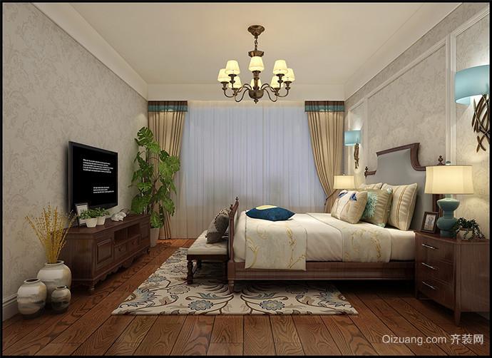东泰小区美式风格装修效果图实景图