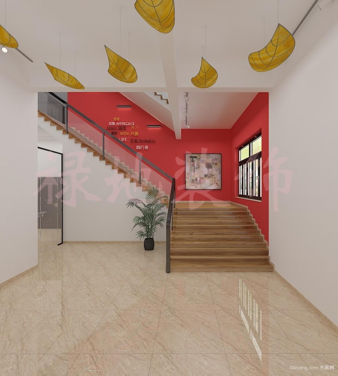 四会办公楼现代简约装修效果图实景图