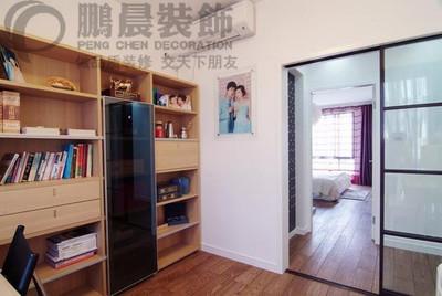 芜湖柏庄丽城 80平现代简约装修效果图装修设计案例