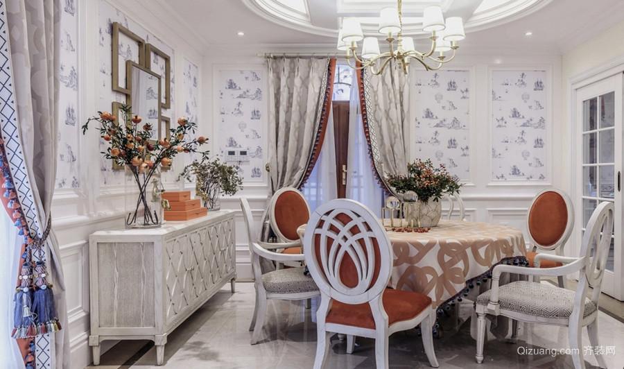 二期联排别墅欧式风格装修效果图实景图