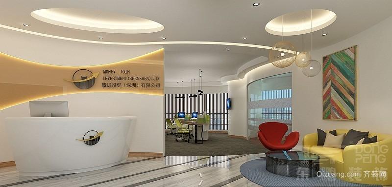万科金融中心现代简约装修效果图实景图