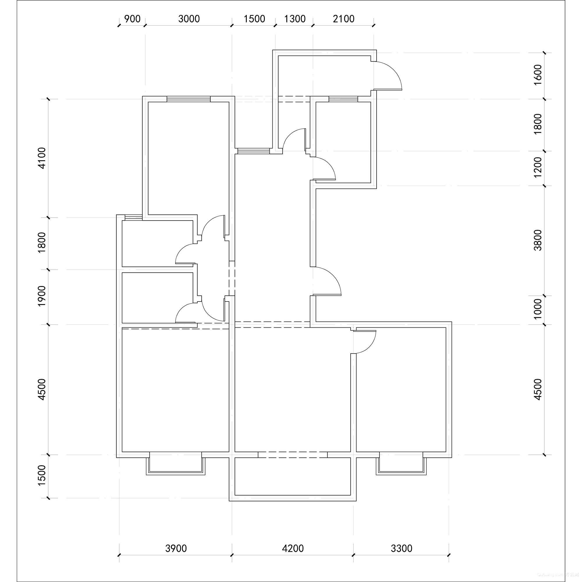 五洲国际官邸现代简约装修效果图实景图