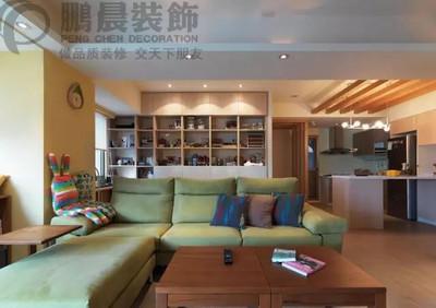 芜湖中建500米94平混搭装修效果图装修设计案例