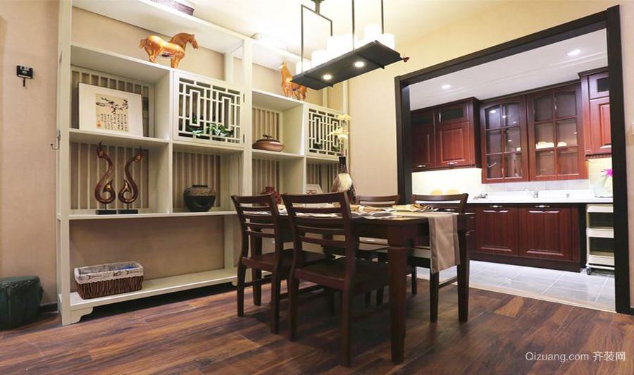 锦达豪庭中式风格装修效果图实景图