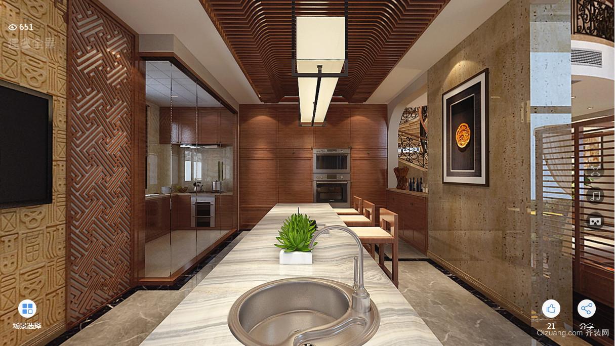 颐和家园现代简约装修效果图实景图