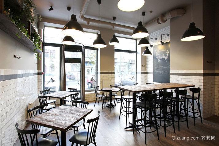精致小餐厅现代简约装修效果图实景图