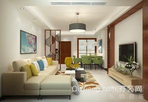 汇东汇丰家园现代简约装修效果图实景图