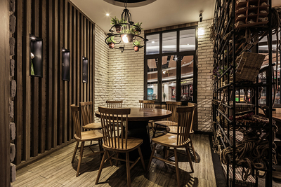 合肥餐厅装修装修设计案例