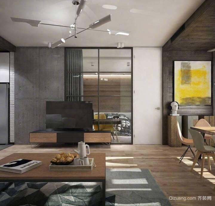 海东新城现代简约装修效果图实景图