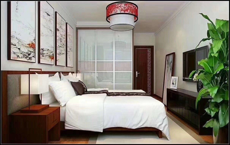 悦山湖中式风格装修效果图实景图