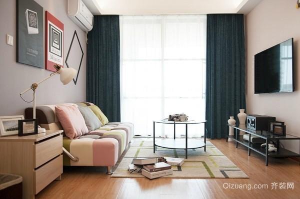 海联时代广场混搭风格装修效果图实景图