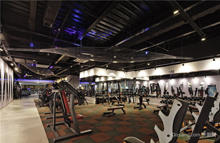健身房其他装修效果图实景图