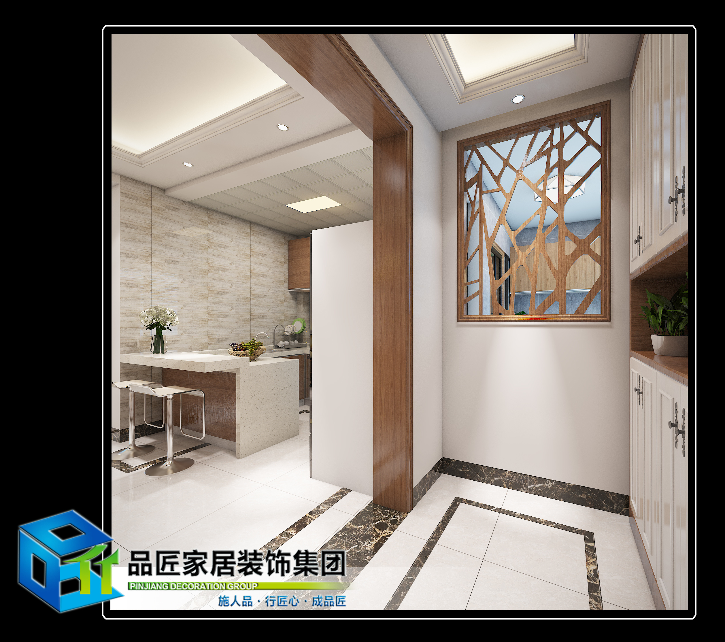 兆安现代城现代简约装修效果图实景图