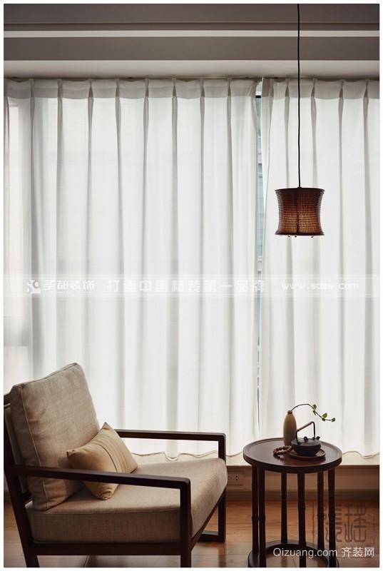 [现代风]-滨江凯旋门-80方现代简约装修效果图实景图