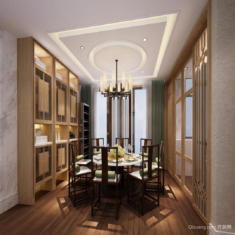 天御香山中式风格装修效果图实景图