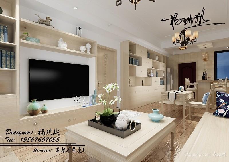 博府丽景湾2303现代简约装修效果图实景图