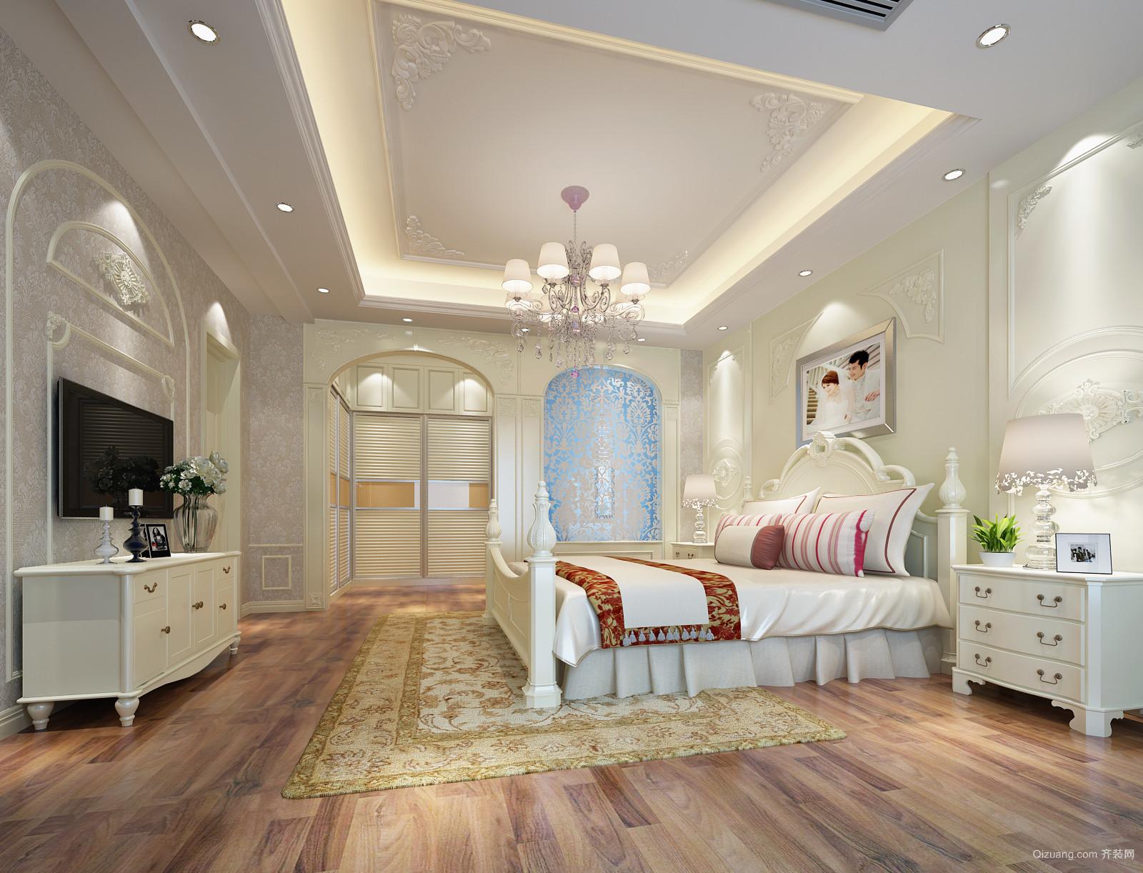 海伦印象别墅美式风格装修效果图实景图