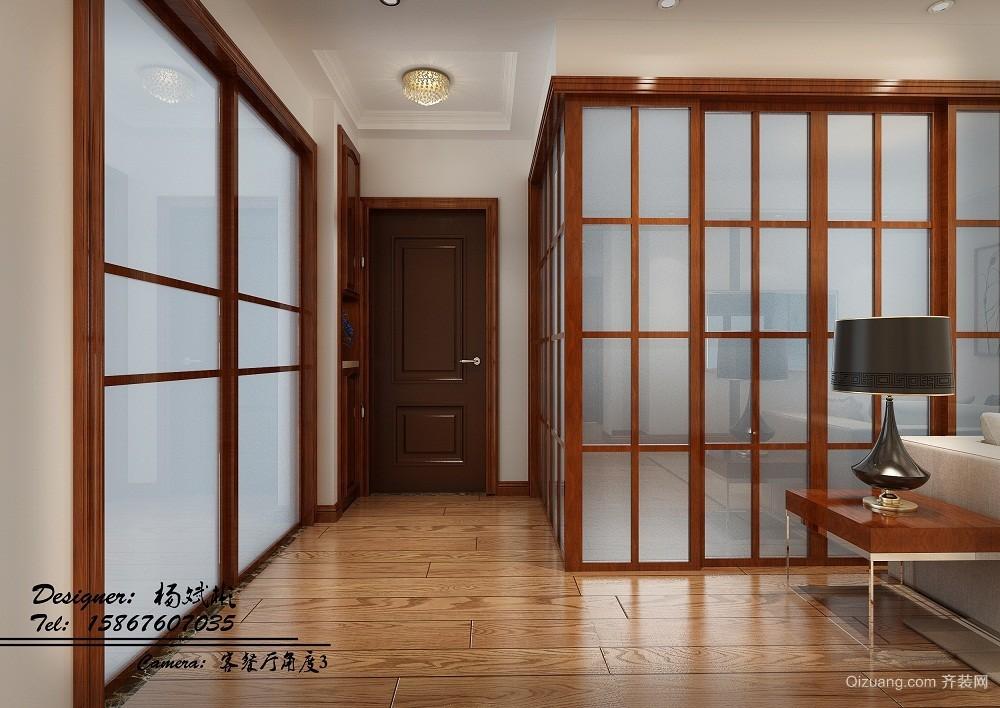 博府丽景湾2504中式风格装修效果图实景图