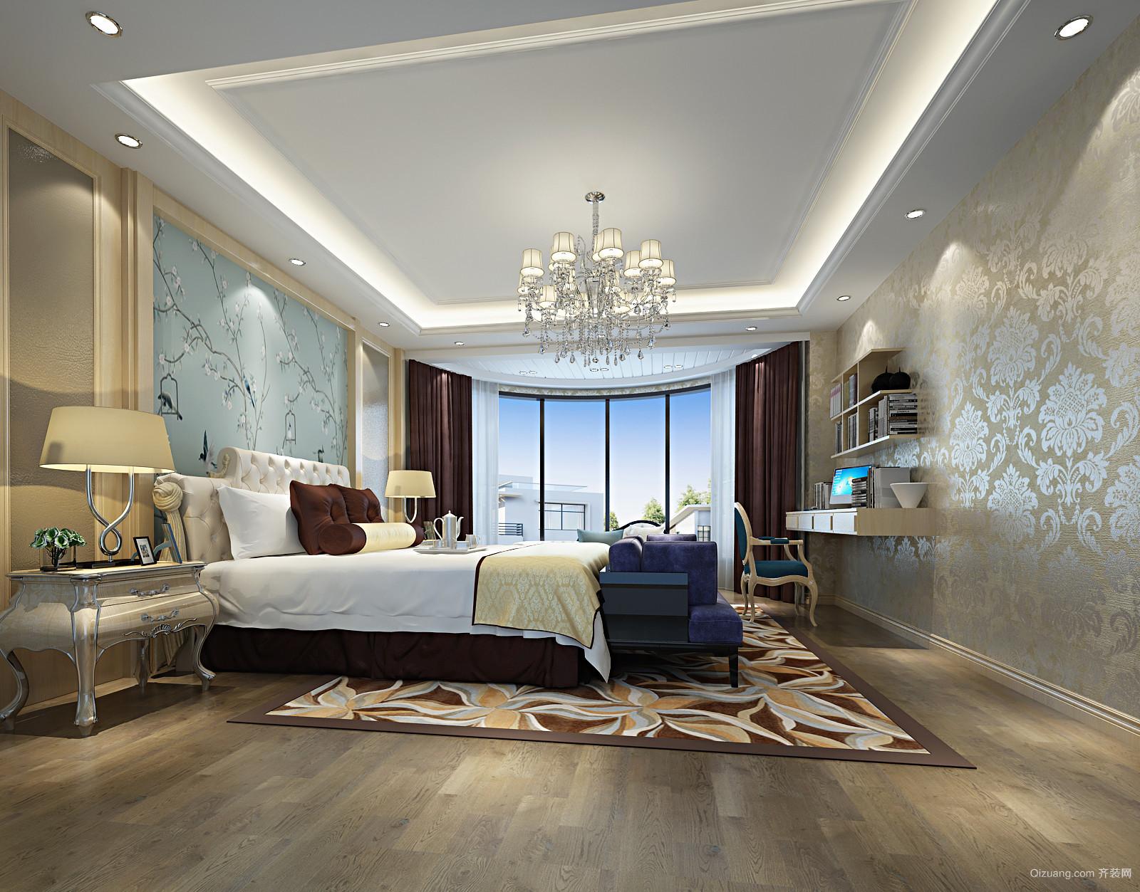 自建房设计欧式风格装修效果图实景图