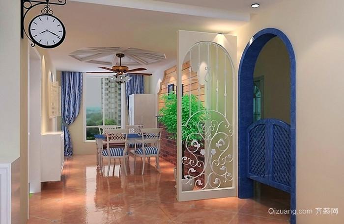 卓越蔚蓝群岛地中海风格装修效果图实景图