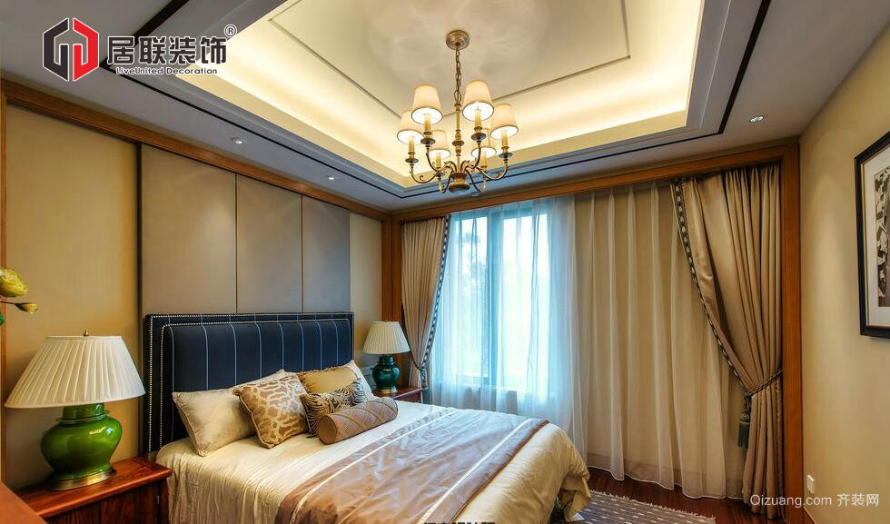 中海雍城世家别墅中式风格装修效果图实景图