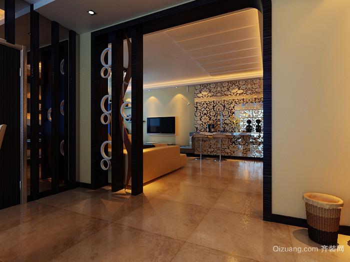 保利茉莉公馆中式风格装修效果图实景图