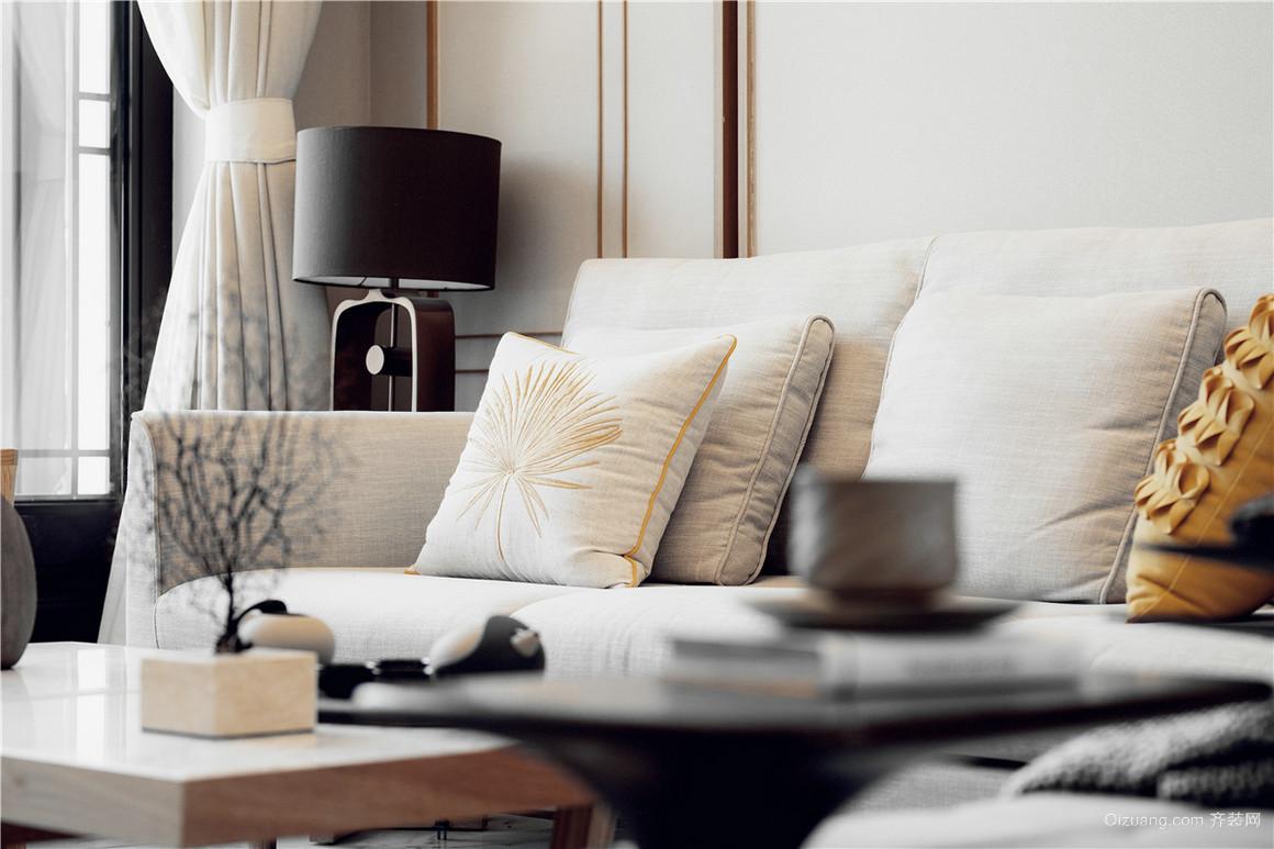 金泽人才公寓中式风格装修效果图实景图