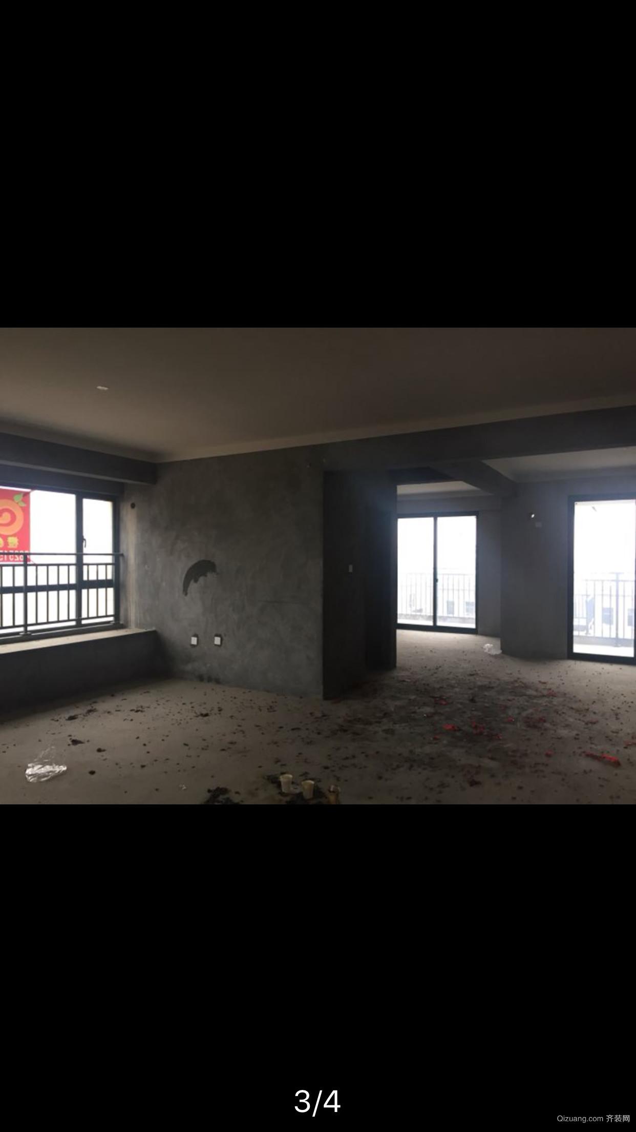 宁南新城欧式风格装修效果图实景图