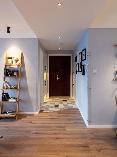 上饶100平米北欧风格三居室装修设计案例