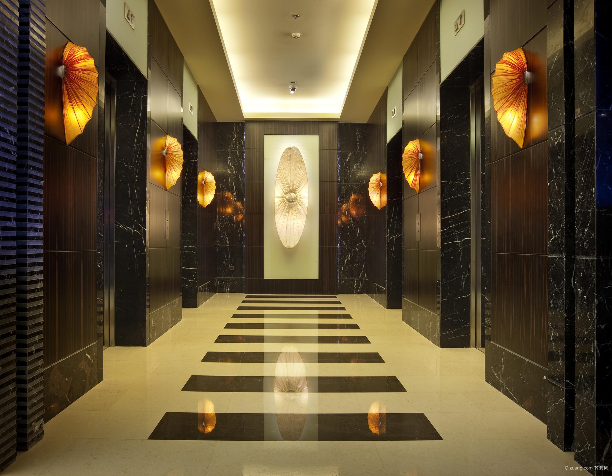 北京科航万豪酒店混搭风格装修效果图实景图