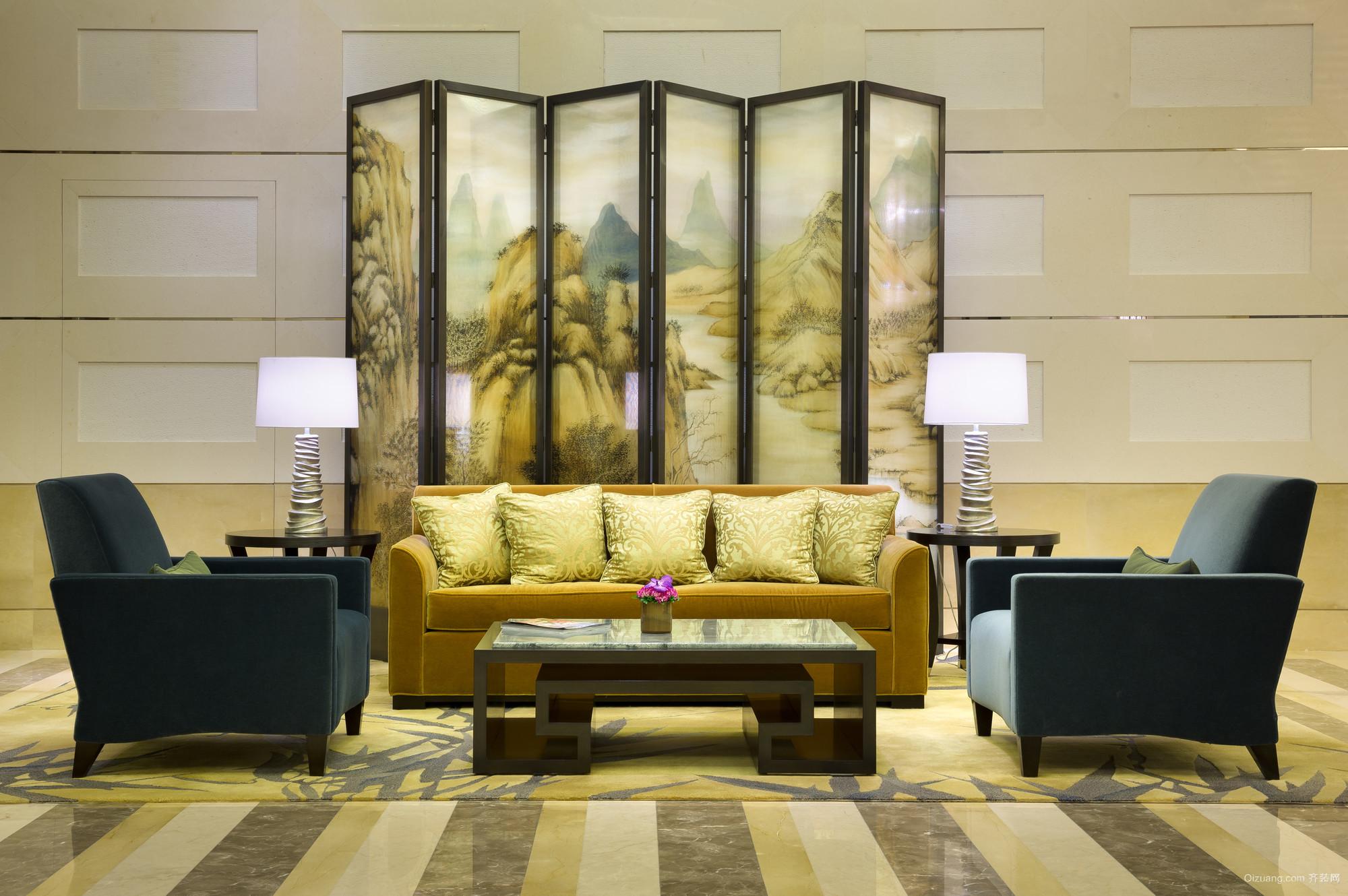北京四季酒店混搭风格装修效果图实景图